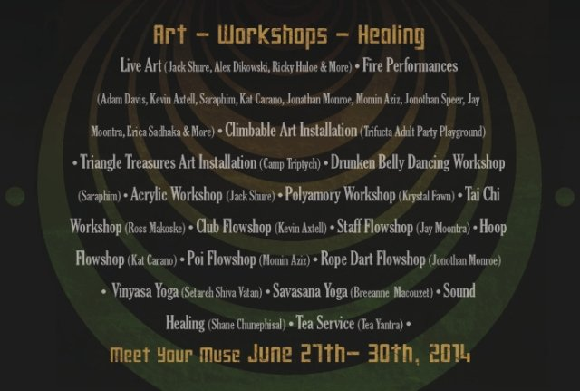 Soultruistic 2014 Workshops Flyer